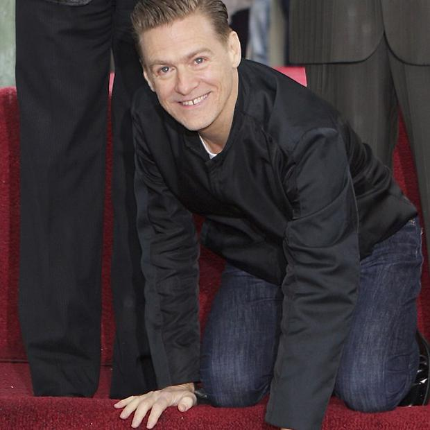 Bryan Adams has just received a star on the Hollywood Walk of Fame
