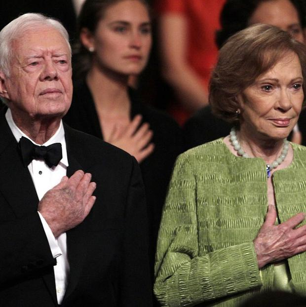 Former US president Jimmy Carter and his wife, Rosalynn will visit Cuba next week (AP)