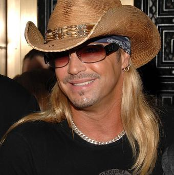 Bret Michaels is suing American TV network CBS Broadcasting and the organisers of the Tony Awards