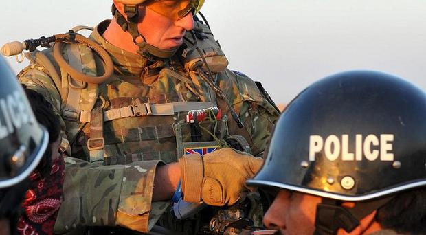 There are fears up to a third of the 3,500-strong Ministry of Defence Police force could be slashed