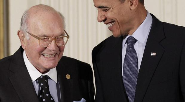 President Barack Obama honoured Harry Coover with the National Medal of Technology and Innovation