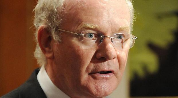 Deputy First Minister Martin McGuinness claimed a decision to scrap a planned cancer centre was sectarian
