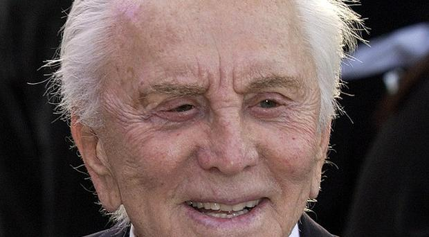 Kirk Douglas made an impact at this year's Oscars