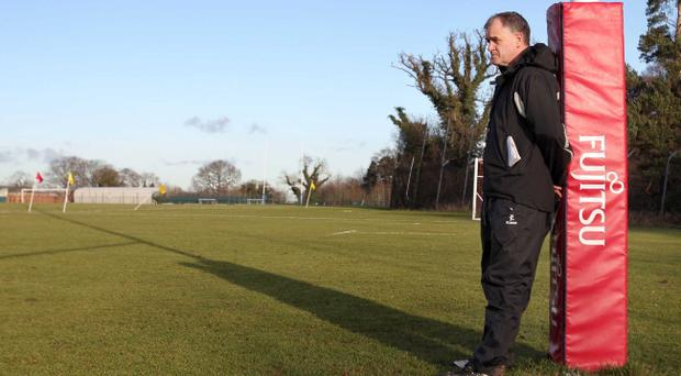 Brian McLaughlin (pictured) has benefited from the ability of Ulster director of rugby, David Humphreys to attract star names to the province