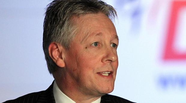 'Somehow the idea of a DUP discussion on equality just doesn't add up'. Pictured party leader Peter Robinson