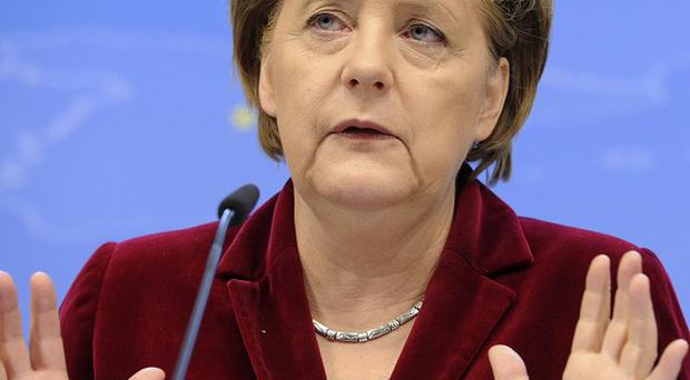 Germany's Greens have scored an election victory over Chancellor Angela Merkel's conservative Christian Democrats (AP)