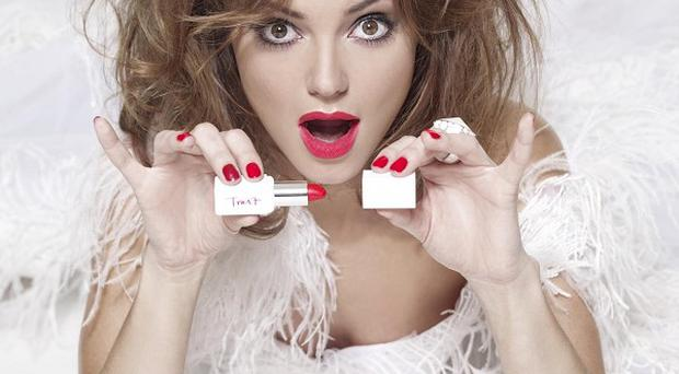Kara Tointon is helping launch a new lipstick in aid of The Prince's Trust