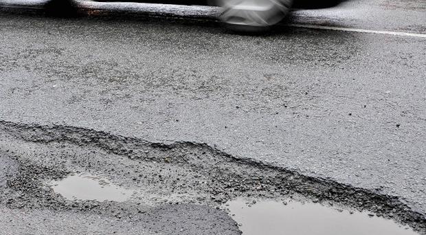 The condition of UK road surfaces has deteriorated, a survey suggests