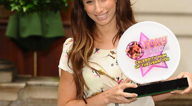Stacey Solomon has been named celebrity mum of the year