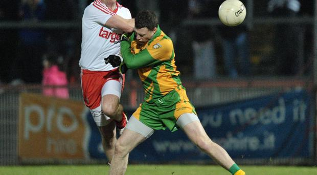 Crowds at recent Saturday night games have been down, as was the case at the Tyrone v Donegal NFL Div 2 tie last month