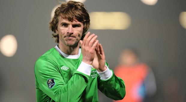 Paddy McCourt didn't have much time to shine against Slovenia on Tuesday night with manager Nigel Worthington not bringing the Celtic player on until late in the fray
