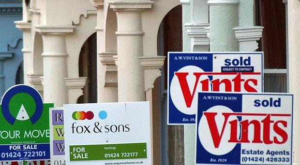 A modest rise in house prices is unlikely to signify the beginning of a strong upturn in the market, Nationwide warned