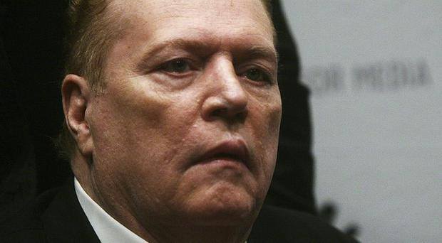 Larry Flynt, whose porn film studio has been fined for not using condoms to protect sex performers (AP)