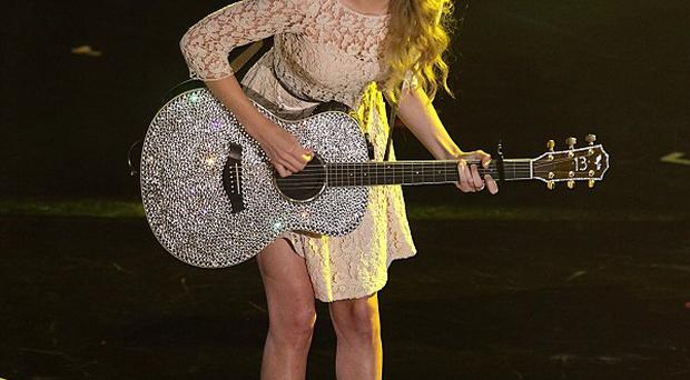 Taylor Swift has picked up a country music award