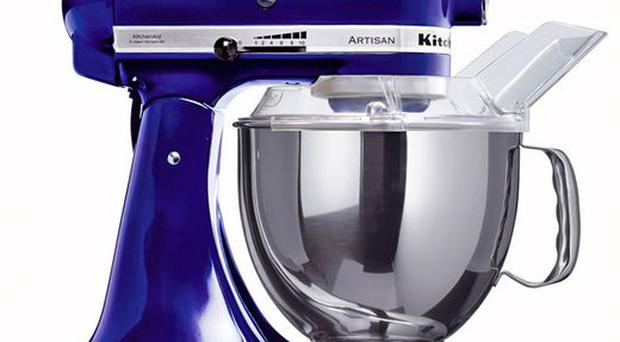 <b>KITCHENAID ARTISAN FOOD MIXER</b><br/> Not one for mums who find cooking a chore, but keen cooks will love this. Kitchenaid's mixer comes with a beater, dough hook, wire whisk and pouring shield. <br/> £399, debenhams.com