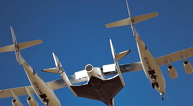 'Spaceliner' Virgin Galactic is designed to rocket passengers at 3,000mph to an altitude of 70 miles