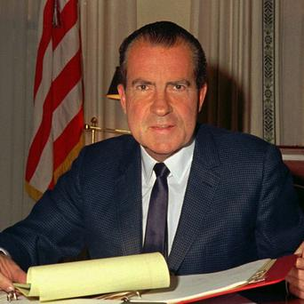 'Politics must focus on NI of 2022, giving up debates about what did or didn't happen in 1972' - Richard Nixon, who was US President in 1972