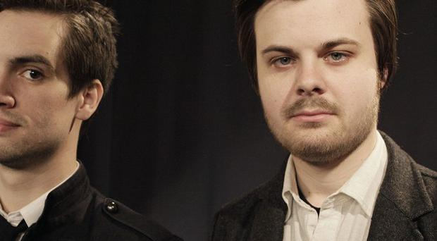 Brendon Urie (left) and Spencer Smith were 'on the same page'