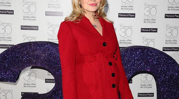 Holly Willoughby is the top yummy mummy