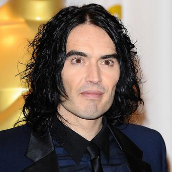 Russell Brand was kept on a short leash, James Marsden joked