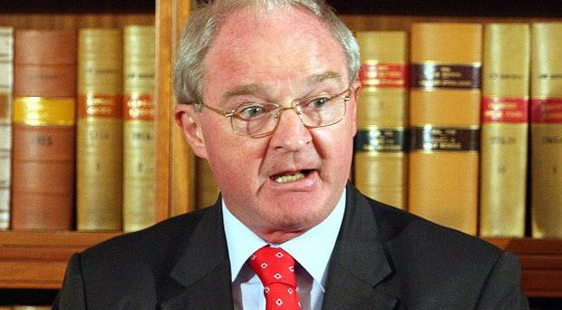 Northern Ireland's most senior judge Lord Chief Justice Sir Declan Morgan has warned against using positive discrimination measures to propel more women into the region's top legal posts