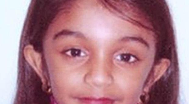 Five-year-old Thusha Kamaleswaran was shot in a shop in south London (Met Police/PA)