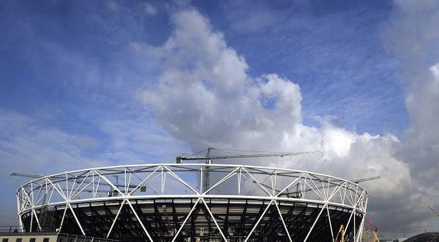 A man has been bailed after being arrested at London's Olympic Park site on suspicion of supplying an explosive substance