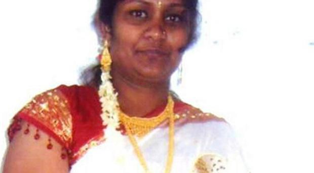 Sharmila Kamaleswaran, mother of Thusha, has urged people to help the police after her daughter was shot (Metropolitan Police/PA)