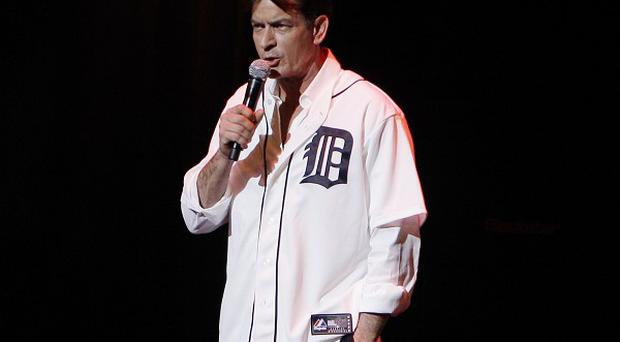 Charlie Sheen was booed by the audience during his stage show in Detroit, Michigan (AP)