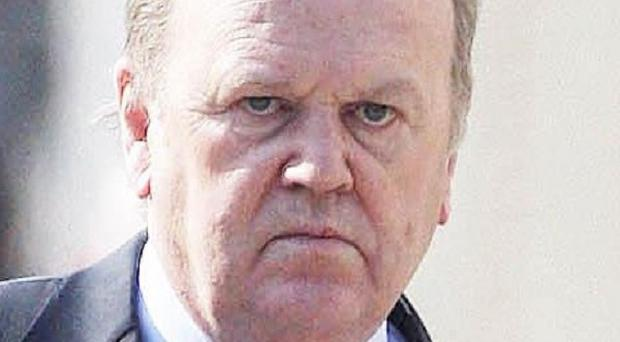 Finance Minister Michael Noonan denied reneging on election commitments over bank debt