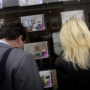 A survey showed house prices have dipped more than three per cent since the start of the year
