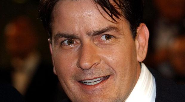Charlie Sheen has posted a new spoof video online