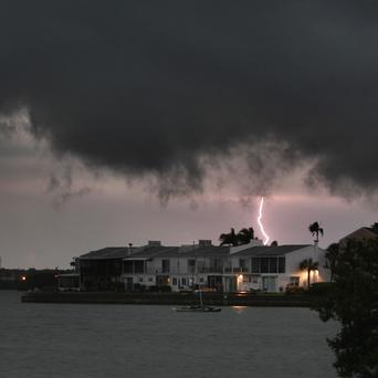 A severe storm system moves through Florida, bringing the threat of tornadoes (AP)