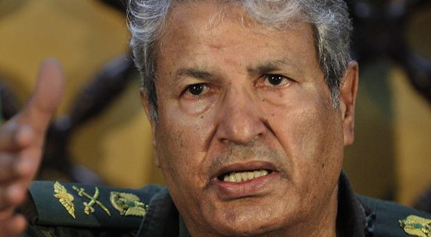 Libyan rebel leader Abdel-Fattah Younis says Nato has not done enough, but the alliance says strikes are being stepped up (AP)