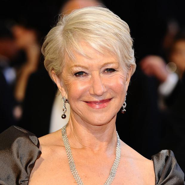 Dame Helen Mirren boiled up the water in a microwave, her director said