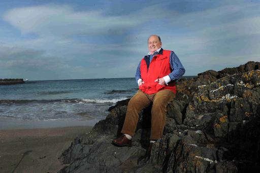 Former Ulster coach Harry Williams, pictured by the North Down coast bear his home, led his team to European success in 1999 and is backing Brian McLaughlin's class of 2011 to do the same