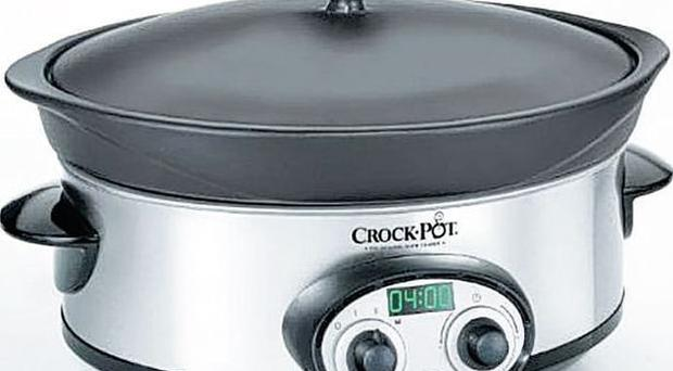 <b>Crock Pot Cooker</b><br/> More than just a slow cooker, this has a removable pot that can be used on the hob for browning meat and vegetables and then you can stick it in the pot for anything from 30 minutes to 20 hours. Once it's cooked, it switches to keep warm mode until you're ready to eat.<br/> <b>Where</b> www.crockpot.co.uk <br/> How much £59