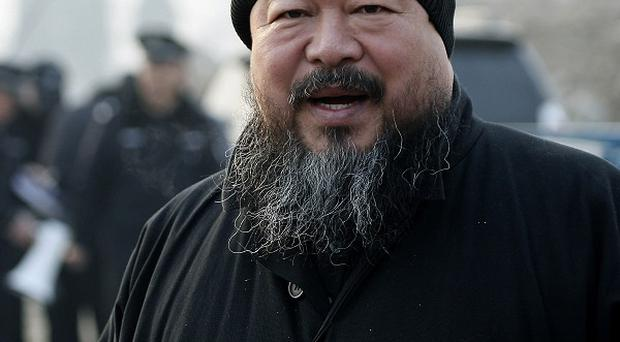 Artist Ai Weiwei who is being detained by the Chinese government for alleged 'economic crimes' (AP)