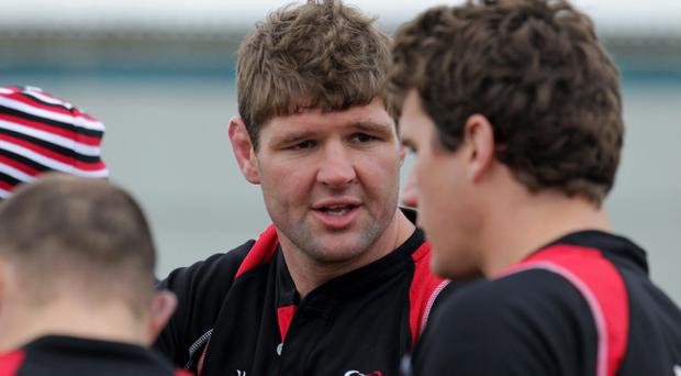Johann Muller has played a key role for Ulster this season