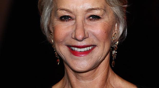 Dame Helen Mirren teamed up with Billy Crystal for a spoof online video