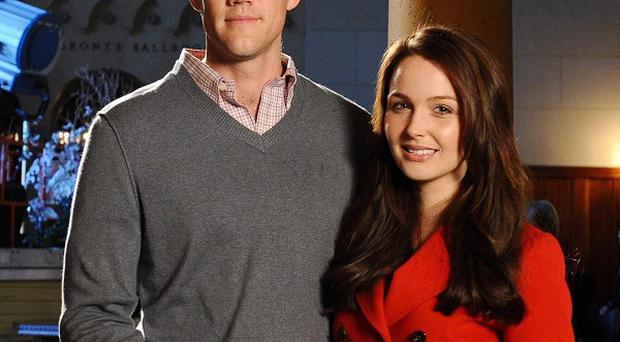 Nico Evers-Swindell and Camilla Luddington play Prince William and Kate Middleton in the movie dramatisation of their life