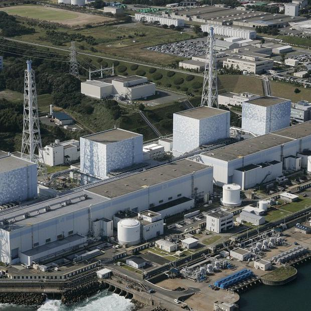 The Fukushima nuclear power plant which was damaged after a previous earthquake off Japan (AP)