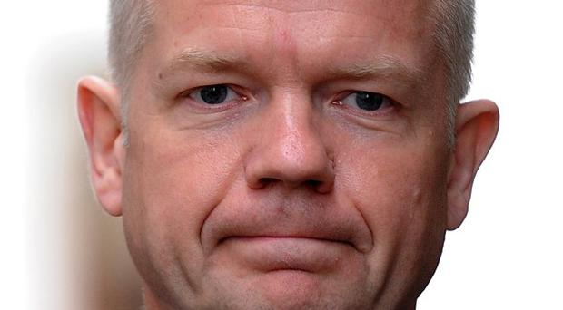 Foreign Secretary William Hague said decisions on defence cuts are not being reopened