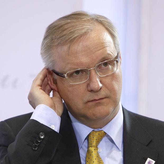 European Commissioner Olli Rehn has announced Portugal will need a bailout worth about 80 billion euros (AP)