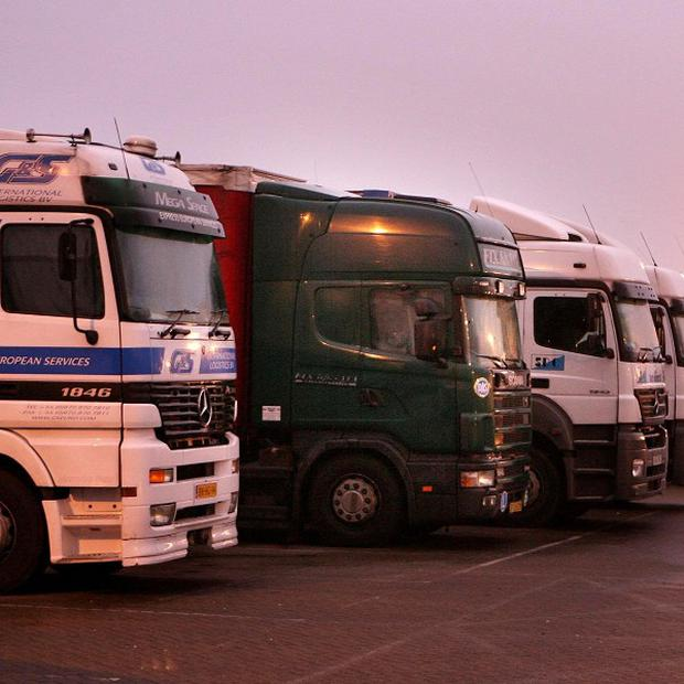 Hauliers are threatening strike action over rising fuel prices