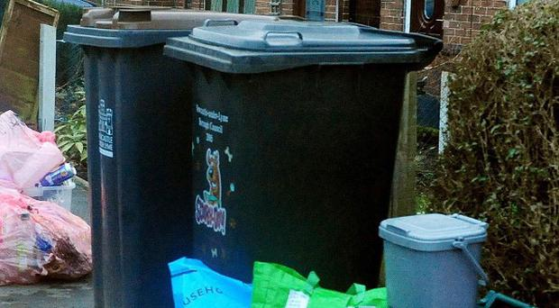 Local authorities are rejecting Government calls to bring back weekly rubbish collections, a poll showed