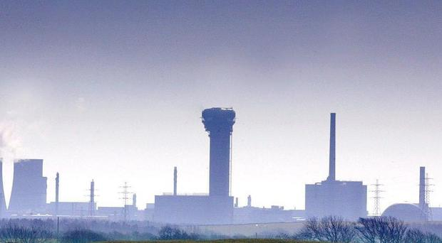 Sellafield complex in Cumbria