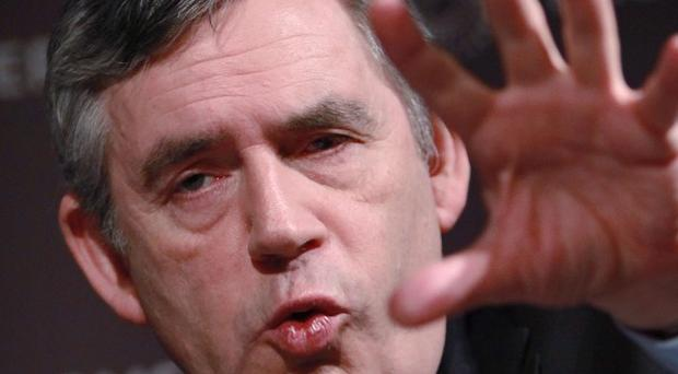Former prime minister Gordon Brown said he had made a 'big mistake' over financial regulation before the banking crisis