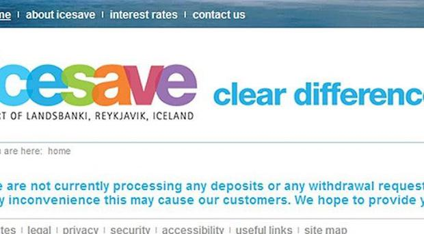Icelanders have rejected a deal to repay Britain for their citizens' deposits in the failed bank Icesave