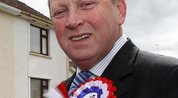 Leader of the Traditional Unionist Voice (TUV) Jim Allister